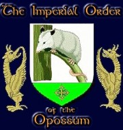 Official Member of Imperial Order of the Opossum.
